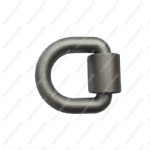 Forged Lashing Ring & Bracket 1 Inch D-Ring/Weld-on