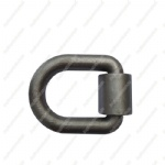 1 Heavy Duty Mounting D Ring with Bracket