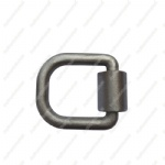 "3/4"" forged d ring with bracket"