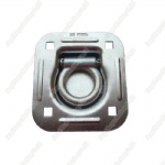 "2"" Rectangle Floor Pan Fitting Square Hole,2720kgs/6000lbs"