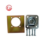 2 Inch Rectangle Floor Pan Fitting Set